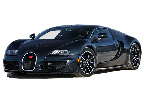 Bugatti Veyron Front High Angle View Exterior Picture