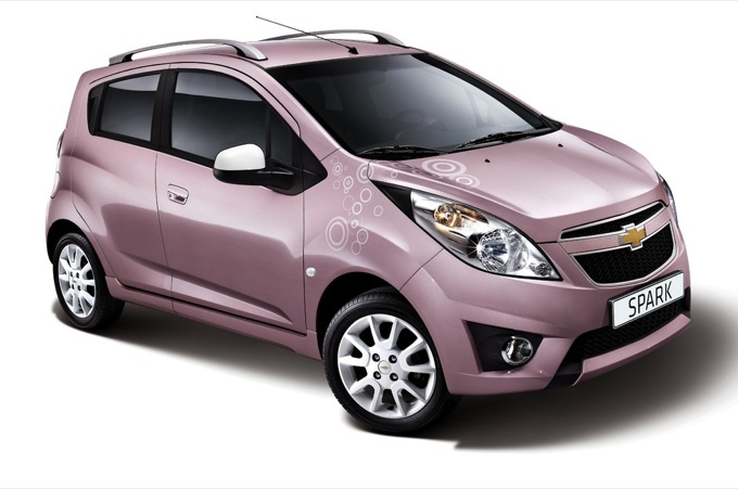 Chevrolet Spark Pink Lady Photo