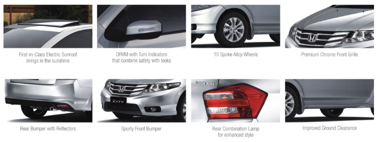Honda City Features