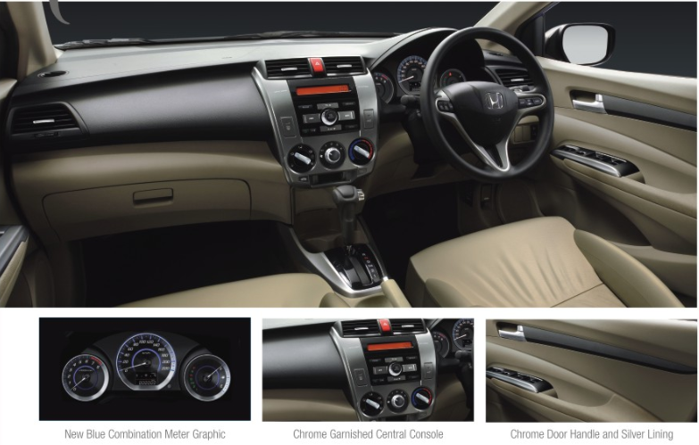 Honda City Interior Pictures