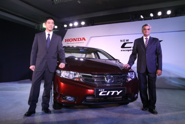 New Honda City Launch Picture