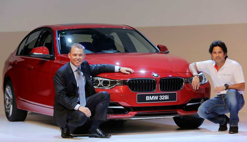 Sachin Tendulkar at BMW 3 Series launch