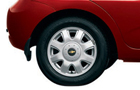 Chevrolet Aveo U-VA Wheel and Tyre Picture