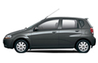 Chevrolet Aveo U-VA Front Angle Side View Picture