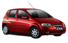 Chevrolet Aveo U-VA Front Low Angle View Picture