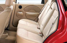 Chevrolet Aveo U-VA Rear Seats Picture
