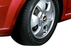 Chevrolet Aveo Wheel and Tyre Pictures