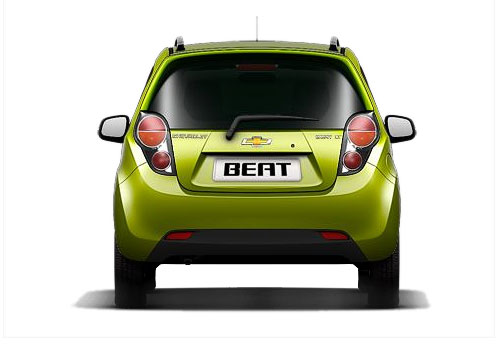 Chevrolet Beat Rear View Exterior Picture
