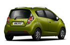 Chevrolet Beat Rear Angle View Picture