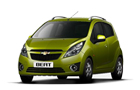 Chevrolet Beat Front High Angle View Picture