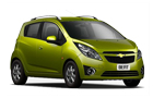 Chevrolet Beat Front Low Angle View Picture
