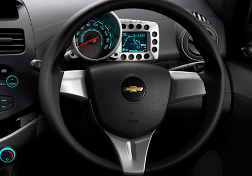 Chevrolet Beat Steering Wheel Interior Picture