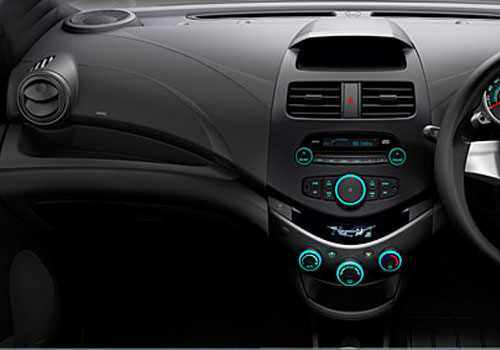 Chevrolet Beat Side AC Control Interior Picture