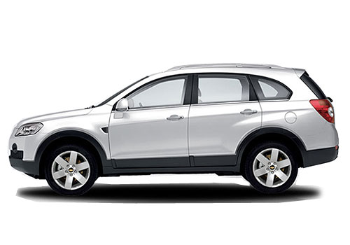 Chevrolet Captiva Front Angle Side View Exterior Picture