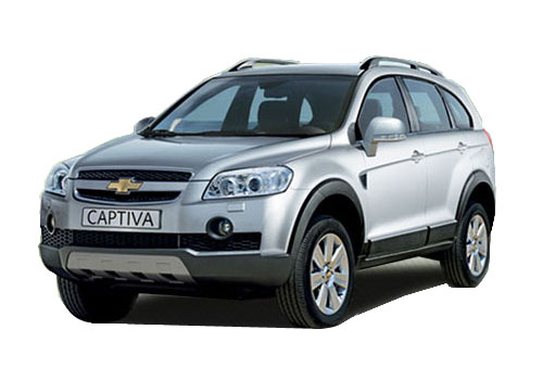 Chevrolet Captiva Front High Angle View Exterior Picture