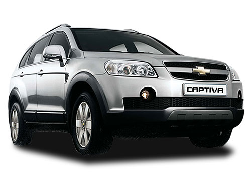 Chevrolet Captiva Front Low Angle View Exterior Picture