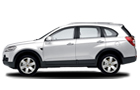 Chevrolet Captiva Front Angle Side View Picture