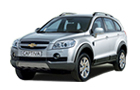 Chevrolet Captiva Front Angle View Picture