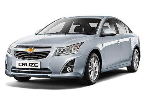 Chevrolet Cruze Front Angle View Picture