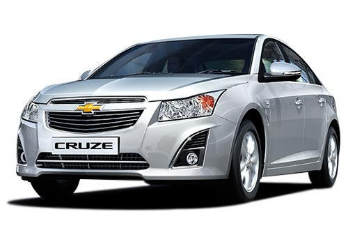 Chevrolet Cruze Front High Angle View Exterior Picture