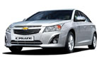 Chevrolet Cruze Front High Angle View Picture