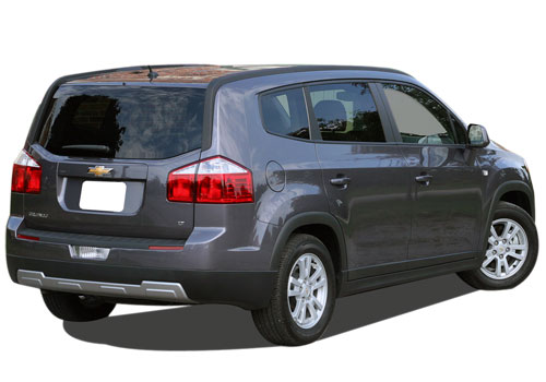 Chevrolet Orlando Rear Angle View Exterior Picture