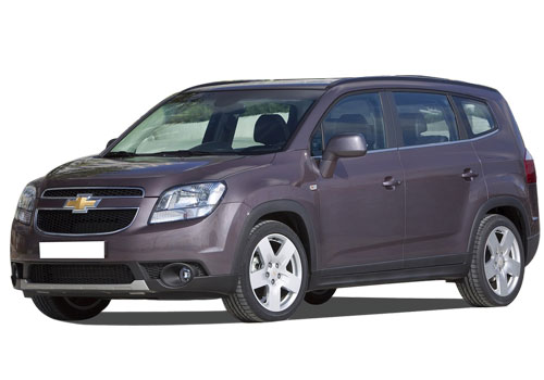 Chevrolet Orlando Front Angle View Exterior Picture
