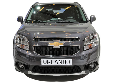 Chevrolet Orlando Front View Exterior Picture