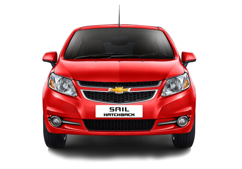 Chevrolet Sail UV-A Front View Exterior Picture