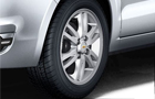 Chevrolet Sail Wheel and Tyre Picture