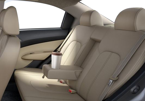 Chevrolet Sail Rear Seats Interior Picture