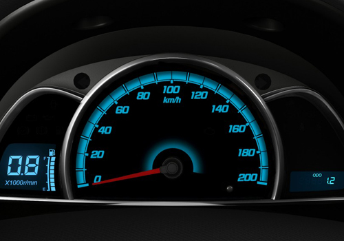 Chevrolet Sail Tachometer Interior Picture