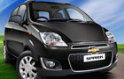 Chevrolet Spark in Caviar Black Color