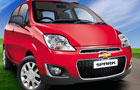 Chevrolet Spark in Velvet Red Color