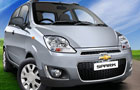 Chevrolet Spark in Misty Lake Color