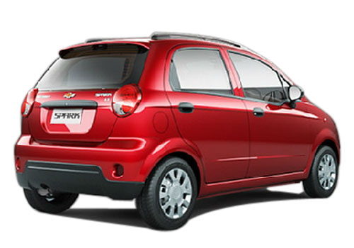 Chevrolet Spark Rear Angle View Exterior Picture