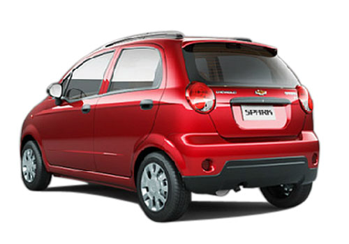 Chevrolet Spark Cross Side View Exterior Picture