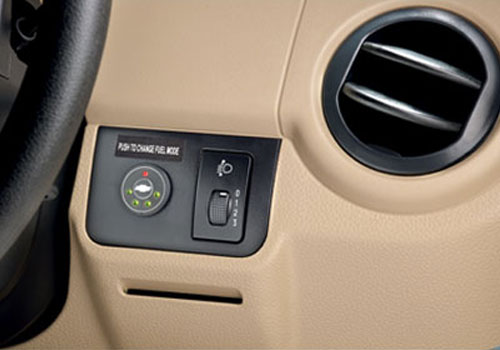 Chevrolet Spark Side AC Control Interior Picture