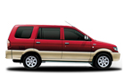 Chevrolet Tavera Red + Beige Colors