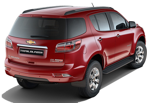 Chevrolet Trailblazer Rear Angle View Exterior Picture