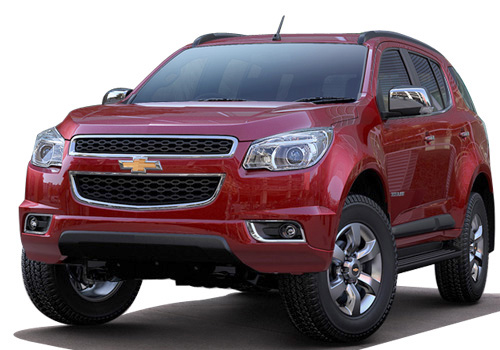 Chevrolet Trailblazer Front View Picture