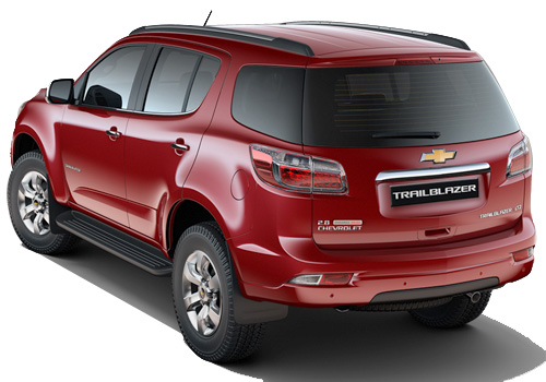 Chevrolet Trailblazer Cross Side View Exterior Picture