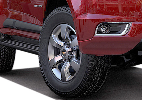 Chevrolet Trailblazer Wheel and Tyre Exterior Picture