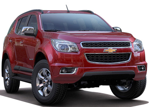 Chevrolet Trailblazer Front Low Angle View Exterior Picture
