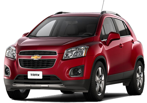 Chevrolet Trax Front Angle View Exterior Picture