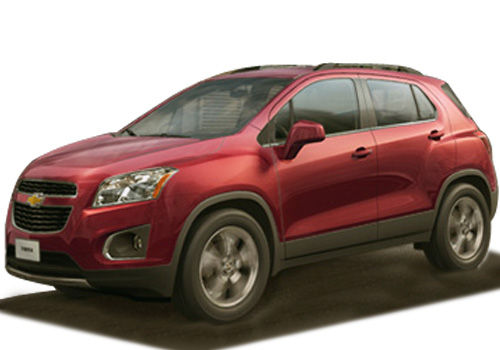 Chevrolet Trax Front Medium View Exterior Picture