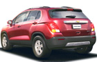 Chevrolet Trax Cross Side View Picture