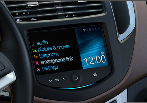 Chevrolet Trax Stereo Interior Picture