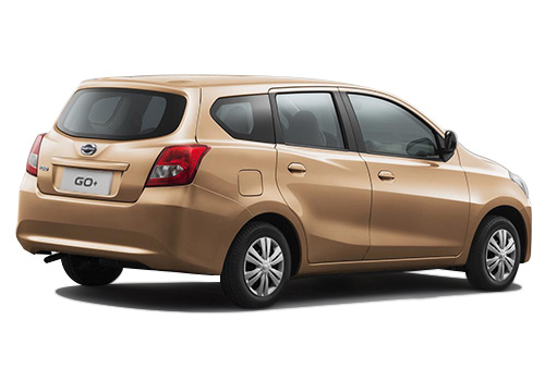 Datsun GO+ Rear Angle View Exterior Picture