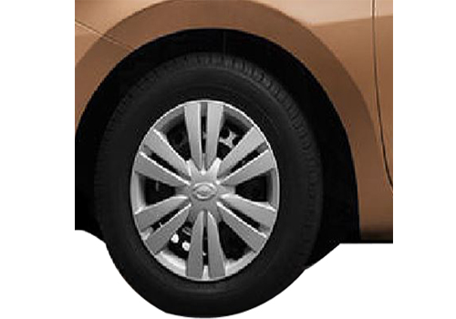 Datsun GO+ Wheel and Tyre Exterior Picture